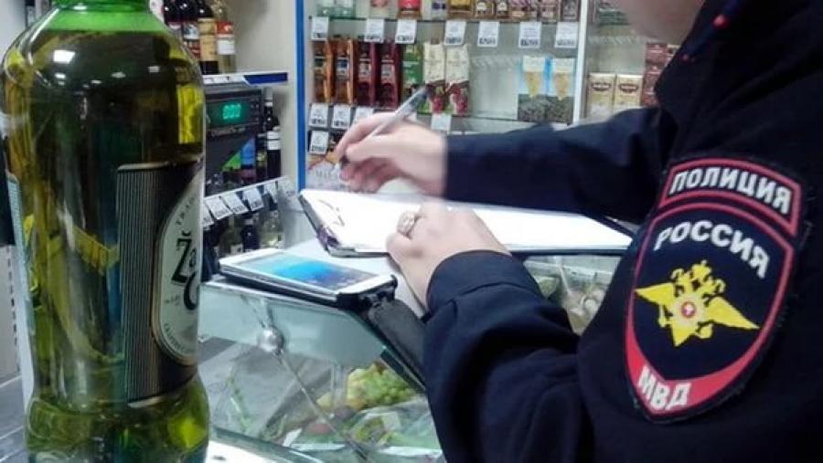 Магазин вПервомайском округе упорно торгует спиртом без лицензии